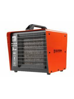 Нагреватель воздуха электр. Ecoterm EHC-03/1D (кубик, 3 кВт, 220 В, термостат, керамический элемент PTC)