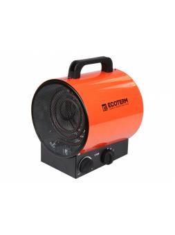 Нагреватель воздуха электр. Ecoterm EHR-02/1E (пушка, 2 кВт, 220 В, термостат)