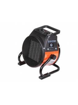 Нагреватель воздуха электр. Ecoterm EHR-02/1D (пушка, 2 кВт, 220 В, термостат,  керамика PTC)