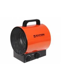 Нагреватель воздуха электр. Ecoterm EHR-03/1E (пушка, 3 кВт, 220 В, термостат)