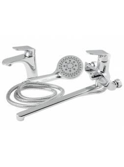 Комплект смесителей для ванной комнаты (Lt) D35 AVVEN18-A364 AV Engineering