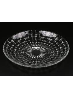 Блюдо стеклянное, круглое, 320 мм, ALASKA (Аляска), PERFECTO LINEA