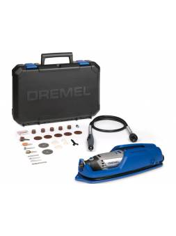 Гравер электрический DREMEL 3000-1/25 в кейсе + набор насадок (130 Вт, 10000 - 33000 об/мин, цанга 3.2 мм)