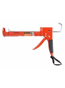 Пистолет д/герм. полукорпусной 310мл STARTUL MASTER (ST4054) (зубчатый шток)