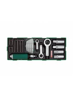 Набор-сет для ремонта резьбы 22предм. TOPTUL (GTA2234)