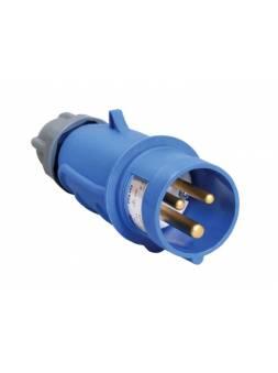 Вилка силовая 16А 220В 2P+PE IP44 MAGNUM (Вилка эл. каб. 16А 2P+PE 220В IP44 ССИ-013 ИЭК PSN01-016-3) (ЭС)