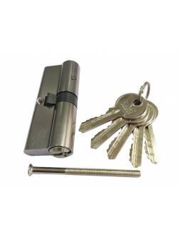 Евроцилиндр DORMA CBR-1 90 (35x55) никель (перфорированный ключ)