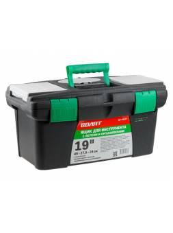 Ящик для инструмента пластмасс. 49x27,5x24 см (19