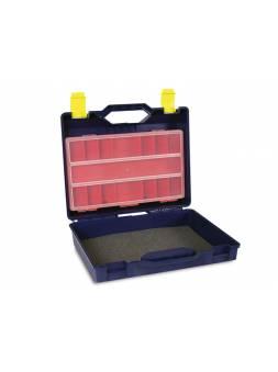 Чемодан для электроинструмента пластмассовый 38,5x33x13см (с органайзером) (TAYG)
