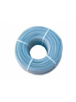 Провод ПНСВ 1х1.2 (бухта 1000м) REXANT (Провод нагревательный ПНСВ 1х1,2 в бухтах (для прогрева бетона)  цвет - светло голубой) (ЭС)