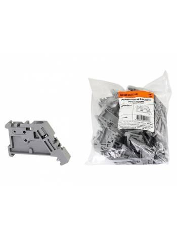 Ограничитель на DIN-рейку (пластик) TDM
