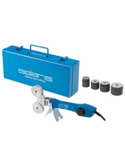 Сварочный аппарат для полимерных труб Solaris PW-804 (800 Вт; 4 насадки: 16, 20, 25, 32 мм)