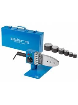 Сварочный аппарат для полимерных труб Solaris PW-1002 (1000 Вт; 6 насадок: 20, 25, 32, 40, 50, 63 мм)