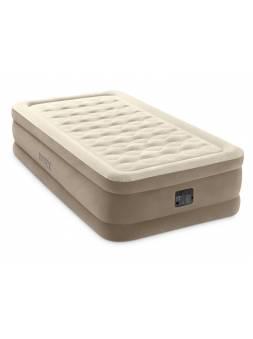 Надувная кровать Twin Ultra Plush, 99х191х46 см, встр. электрич. насос, INTEX