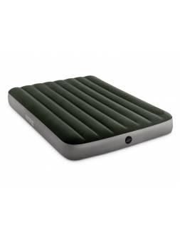Надувной матрас Full Downy, 137х191х25 см, встроенный ножной насос, INTEX