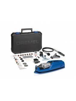 Гравер электрический DREMEL 4000-4/65 EZ в мет. кейсе + аксессуары (175 Вт, 5000 - 35000 об/мин, цанга 3.2 мм)