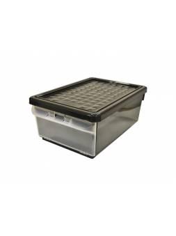 Ящик дляхранения с боковой дверцей, 375х266х156 мм, 15 л, венге, BRANQ