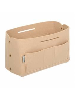 Органайзер для хранения из фетра, 28х13х16,55 см, 6 л, бежевый, QWERTY