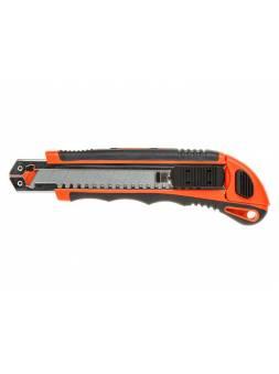 Нож пистолетный с выдвижным лезвием 18мм +3 лезвия STARTUL PROFI (ST0938)