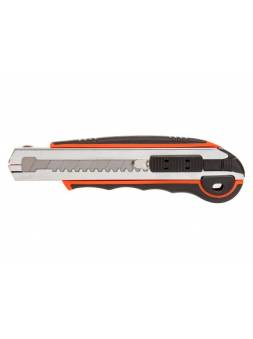 Нож пистолетный с выдвижным лезвием 18мм + 5 лезвий STARTUL PROFI (ST0939)