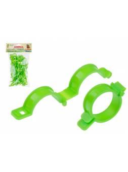 Клипса для подвязки растений, d25 мм, 50 шт, ОСТРОВ КОМФОРТА