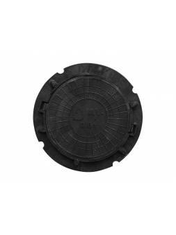 Люк садовый А8 (8 кН) черный, AV Engineering
