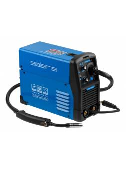 Полуавтомат сварочный Solaris MIG-200EM (MIG/MMA) (220В; встр. горелка 2 м; смена полярности; катушка 1 кг)