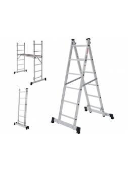 Лестница-помост алюм. 80 см 6 ступ. 11,6 кг NV1415 Новая Высота (макс. нагрузка 150кг)