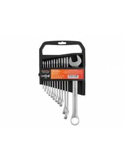 Набор ключей комбинир. 6-22мм 12шт STARTUL MASTER (ST3072-112) (пласт. подвес, 6-14,17,19,22)