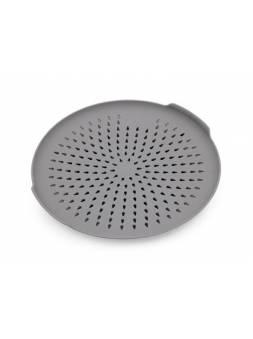 Поддон-сушилка в раковину Compakt light дымчато-серый, BEROSSI (Изделие из пластмассы. Размер 262,4 х 269,8 х 34 мм)
