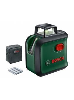 Нивелир лазерный линейный BOSCH Advanced Level 360 в кор. (проекция: крест, до 24 м, +/- 0.40 мм/м, резьба 1/4