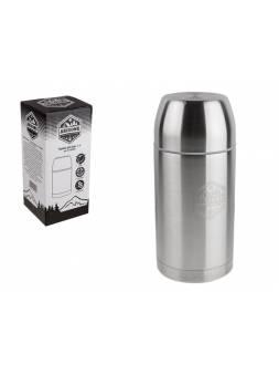 Термос для еды, 1 л, нержавеющая сталь, ARIZONE (универсальный термос, который можно использовать как для хранения еды, так и напитков.)