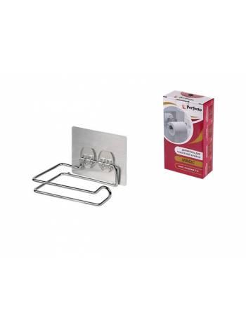 Держатель для туалетной бумаги, хром. сталь, MAGIC, PERFECTO LINEA