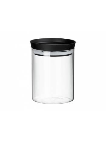 Банка для сыпучих продуктов стеклянная 600 мл, серия Handy, PERFECTO LINEA