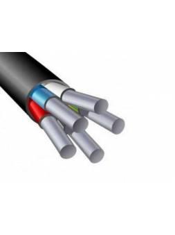 Кабель АВВГ 5х6 (бухта 100м) Ч Поиск-1 (черный; ГОСТ 16442-80) (ПОИСК-1)