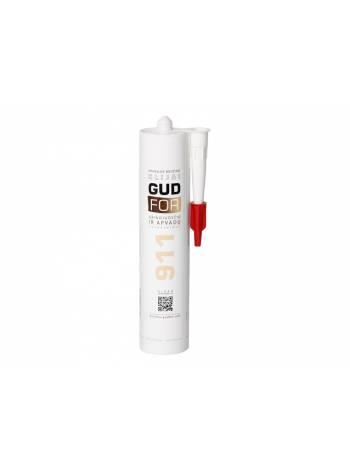 Клей монтажный GUDFOR 911, 290мл (белый, для крепления плинтусов и наличников) (POINT)