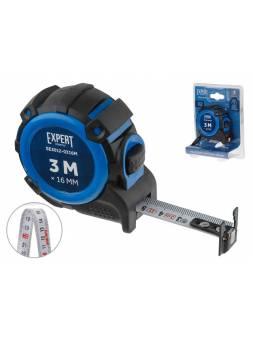 Рулетка  3м/16мм EXPERT STARTUL (SE3012-0316M) (Двухсторонняя шкала нанесения, нейлоновое покрытие,   магнитный обрезиненный двухсторонний зацеп)