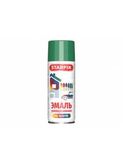 Краска-эмаль аэроз. универсальная зеленый STARFIX 520мл (6029) (Мятно-зеленый, глянцевая)