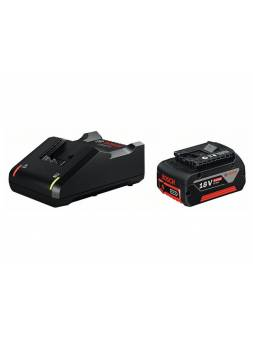 Комплект аккумулятор 18.0 В GBA18 V 1 шт. + зарядное устройство GAL 18V-40 (Набор GBA 18 V 4,0Ah 1 шт. + GAL 18-40) (BOSCH)
