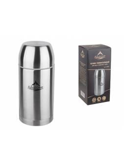 Термос универсальный для еды и напитков, 1 л, нержавеющая сталь, ARIZONE (универсальный термос- еда/напитки.)