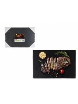 Блюдо для подачи сервировочное 30х20 см., сланец, PERFECTO LINEA