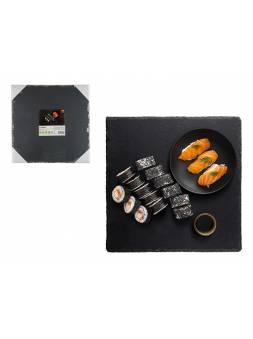 Блюдо для подачи сервировочное 30х30 см, сланец, PERFECTO LINEA