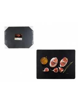 Блюдо для подачи сервировочное 30х40 см, сланец, PERFECTO LINEA