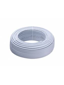 Труба металлопластиковая PE/AL/PE-Xb для теплого пола 16х2.0 200м белая,  Италия (VALSIR)