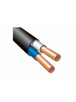 Кабель ВВГнг(A)-LS 2х2,5 (бухта 200м) Поиск-1 (черный; ГОСТ 16442-80) (ПОИСК-1)