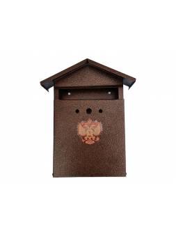 Ящик почтовый Домик с замком 350х280х60 мм (ИнструмАгро)