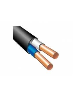 Кабель ВВГ-Пнг(A)-LS 2х1,5 (бухта 100м) Ч Поиск-1 (черный; ГОСТ 16442-80) (ПОИСК-1)