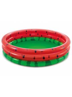 Надувной детский бассейн Watermelon, 168х38 см, INTEX (от 2 лет)