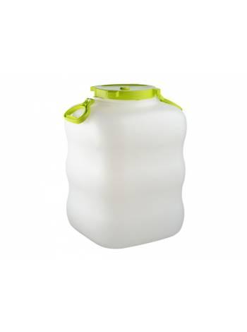 Бак для жидкостей пластм. с крышкой и ручками 60л (IDEA)