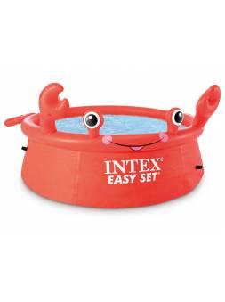 Надувной бассейн Easy Set Happy Crab, 183х51 см, INTEX (от 3 лет)